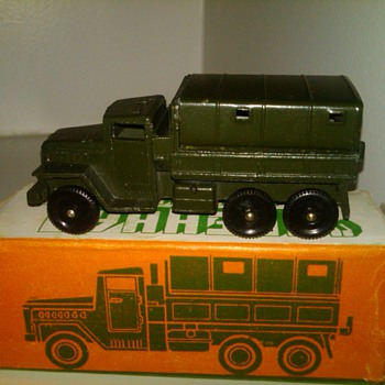 Metal Army Toy Truck..Russian? - Model Cars