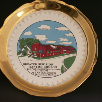 Church Plate, Dallas Texas
