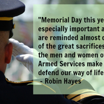 To all of our current and retired military...thank you for you're service