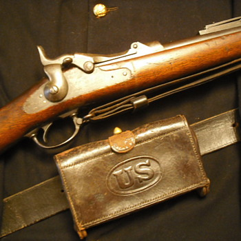 U.S. Model 1884 Springfield Rifle