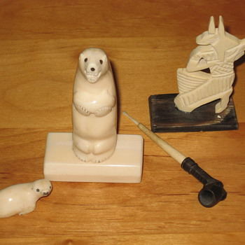 Ivory Pieces - Folk Art