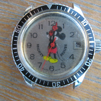 ?????what kind of mickey do i have ?????/ - Wristwatches