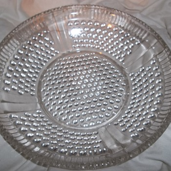 possibly eapg hobnail bowl nice and heavy