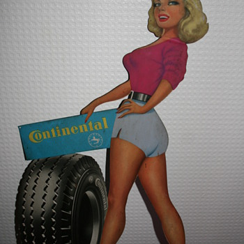 marylin monroe tin add Continental - Advertising