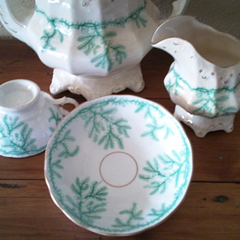 Trying to Identify Pattern and Maker of China Tea Set - China and Dinnerware