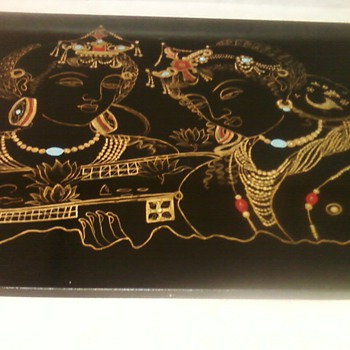 VEENA PAINTING NO.2 - Asian