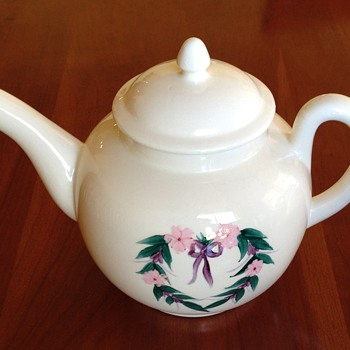 Victorian Teapot With Unknown Mark on Bottom - DB? - China and Dinnerware
