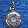 18k solid gold ladies fob watch