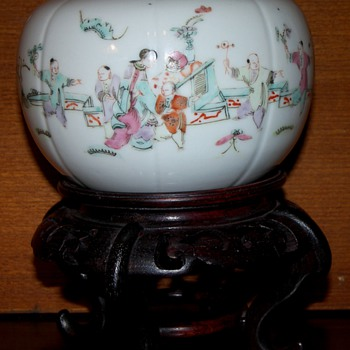 Chinese Porcelain Pumpkin