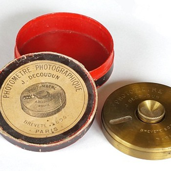 1890s Photographic Exposure Meters