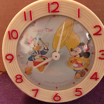 Disney Time Donald and Mickey Alarm Cock - Clocks