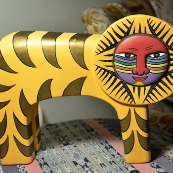 Laurel Burch Tiger - Animals