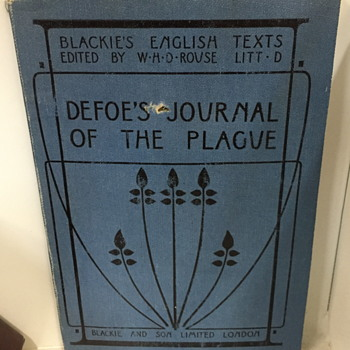Defoe's journal of the plague.