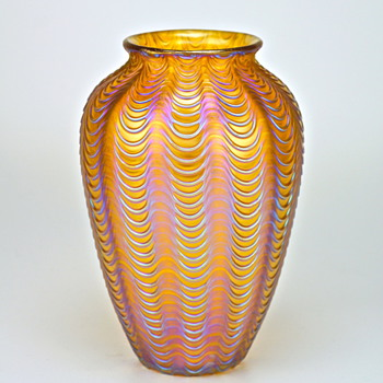Loetz Aeolus circa 1900 - Art Glass