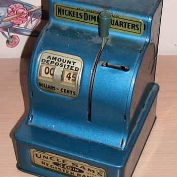 Cash Register - Savings Bank