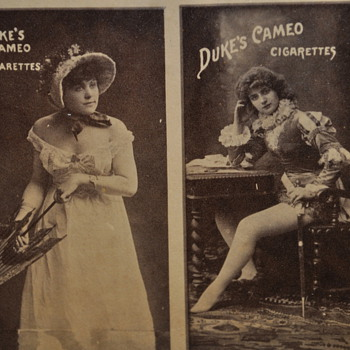 Early Tobacco Cards - Tobacciana