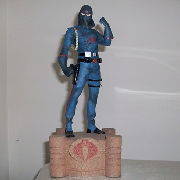 Limited Edition G.I. Joe Cobra Commander Statue - Toys