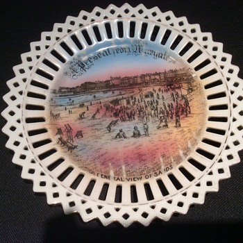 Antique looking plate