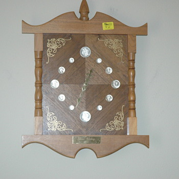 Marion Kay Summers, Silver Heritage  1870 series, wall clock - Clocks