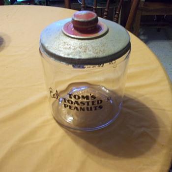 Tom's Peanut Jar, Lance Jar, and 6 Christofle Knife Rests - Kitchen