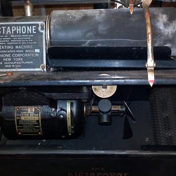 1912 Dictaphone
