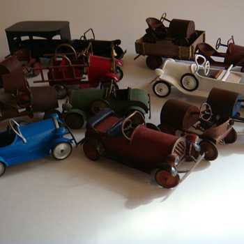 some 1/12 th scale pedal cars