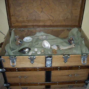 trunk display case - Furniture