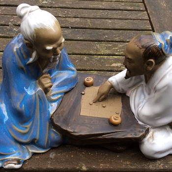 Antique /vintage ?? Chinese figurine  - Figurines