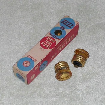 Zell Glass Fuse Plugs - Advertising