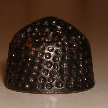 14th-16 century beehive thimble?