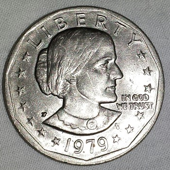 1979 Susan B Anthony Coin - US Coins