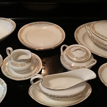 Mystery Johnson Bro's China?! - China and Dinnerware