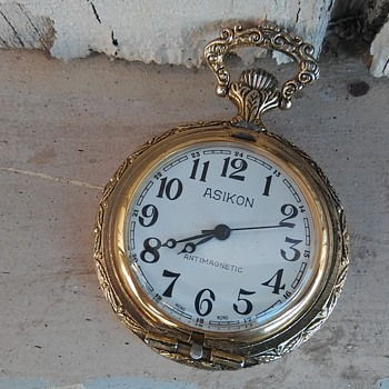My asikon pocket watch