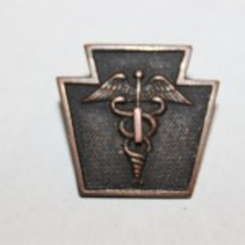 28ID 103RD Keystone Caduceus Medical Pin Badge?