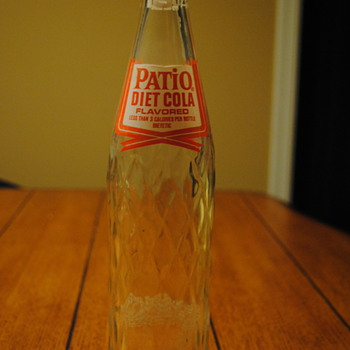 1963 Patio Diet Cola Pepsi Co Bottle