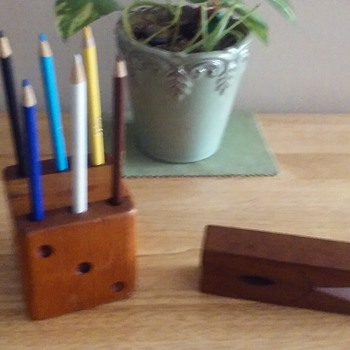 Old School Wooden Office Supplys!