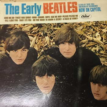 The early Beatles - Records
