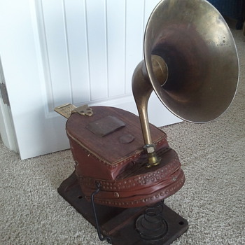 Antique Fireman Bellow-Horn - Firefighting