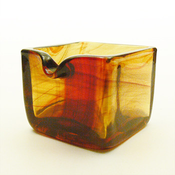 Lava ashtray, Per Lütken (Holmegaard, 1970) - Art Glass