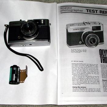 1981-olympus trip 35. - Cameras