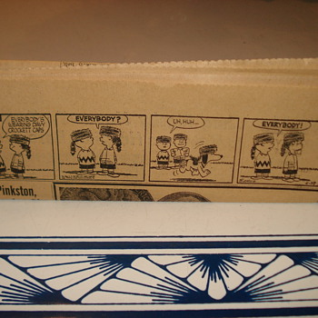 Charlie Brown Peanuts Cartoon 1955. 4 Frames. Carl Schultz - Advertising