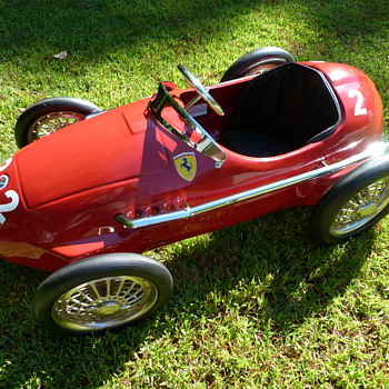 Ferrari c.1952-1957 F2 Racer. - Model Cars
