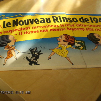 French sign from 1940