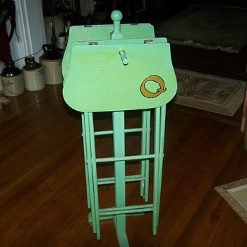 Vintage Utility Table Stands - Furniture