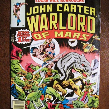 John Carter, Warlord of Mars Vintage Comics