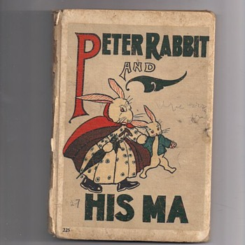 Peter Rabbit and His Ma Book Copyright 1917  - Books