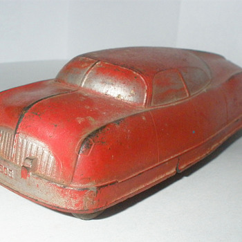 Auburn Ruber Futuristic Sedan, late 1940s. 