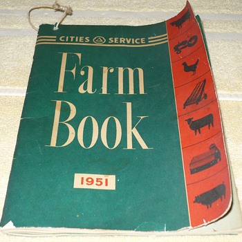 Cities Services Farm Book 1951
