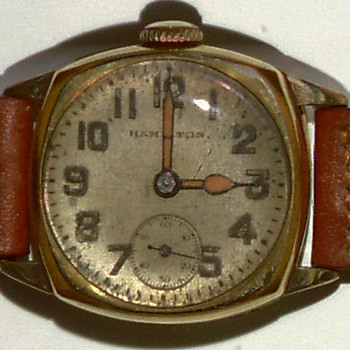 Early Hamilton wrist watch - Wristwatches