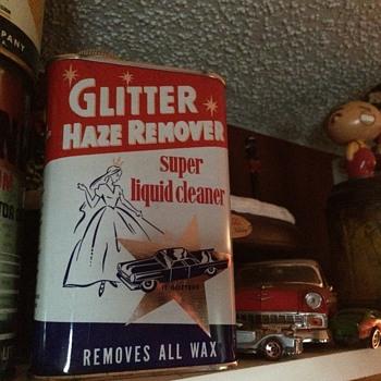 GLITTER HAZE REMOVER 1950's NOS. - Petroliana
